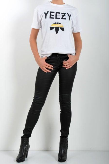 Fakelab yeezy t-shirt wit