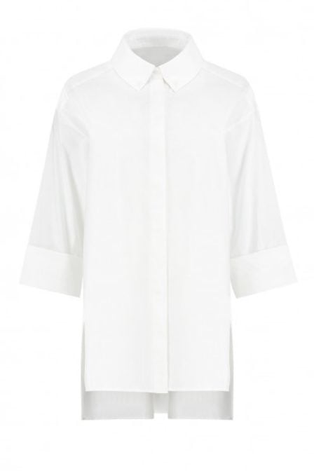 Fifth house ruff oversized blouse wit