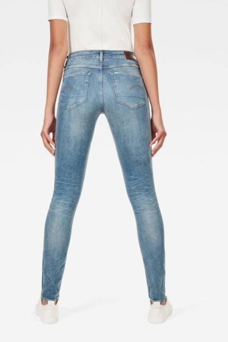 G-star raw deconstructed mid waist skinny jeans beach medium aged