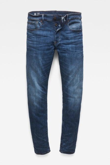 G-star straight tapared medium jeans blauw
