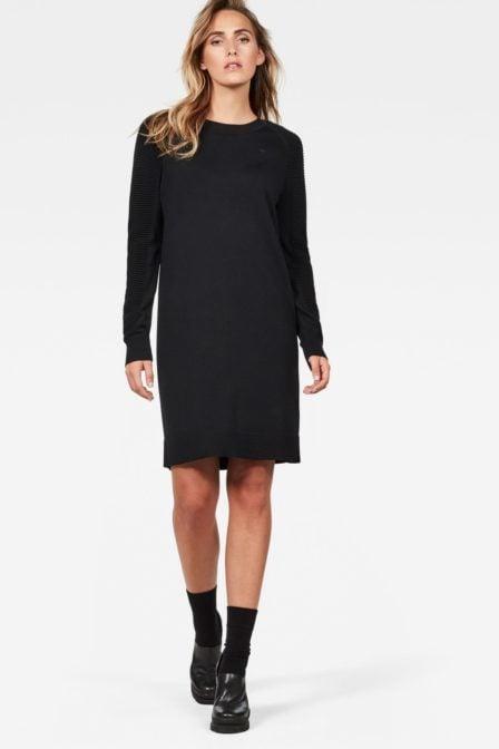 G-star raw suzaki dress knit black