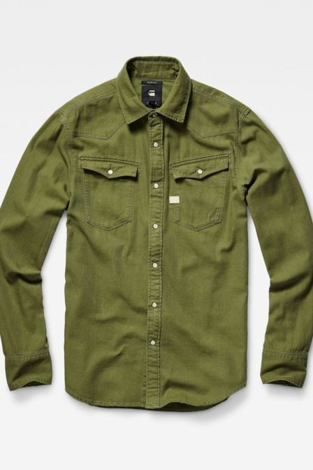 G-star raw overhemd green