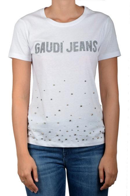 Gaudi ss t-shirt white