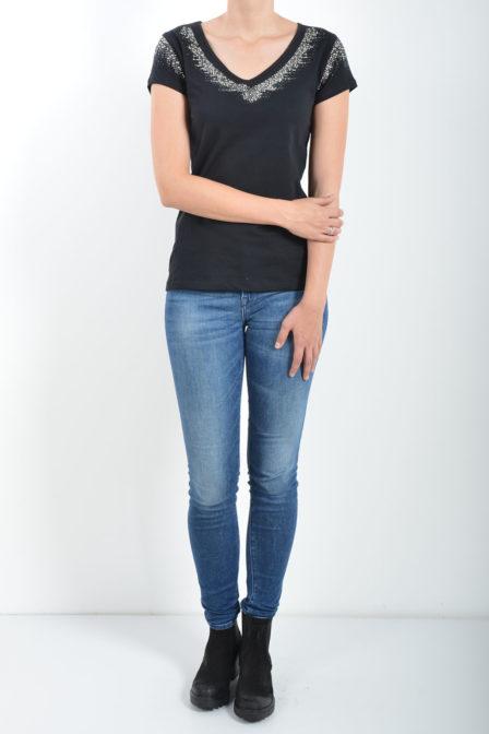 Gaudi short sleeve t-shirt black