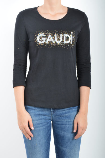 Gaudi short sleeve t-shirt black