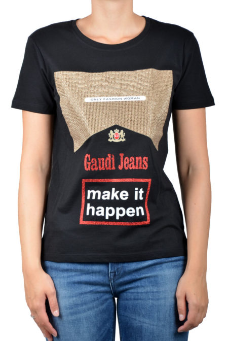 Gaudi ss t-shirt black