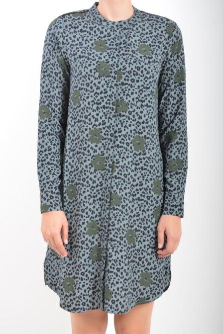 Geisha blousejurk leopard