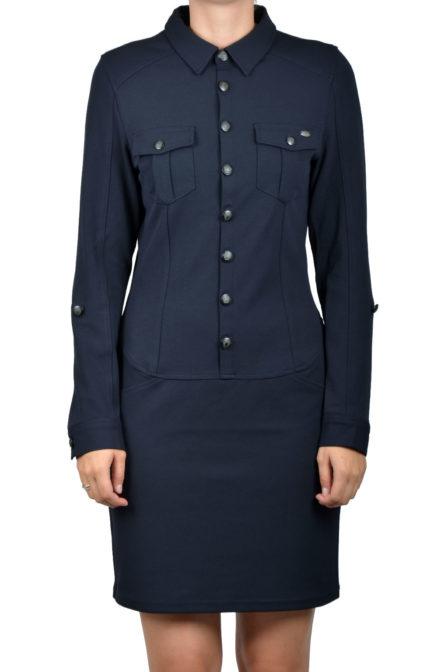 Geisha dress navy