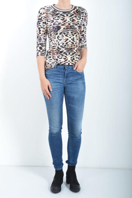 Geisha t-shirt leopard