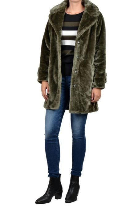 Giacomo coat army green