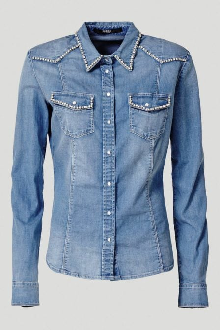 Guess lalima shirt denim