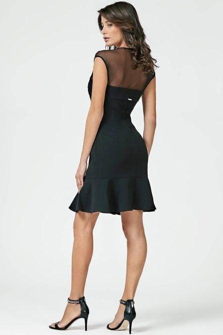 Guess luz dress black