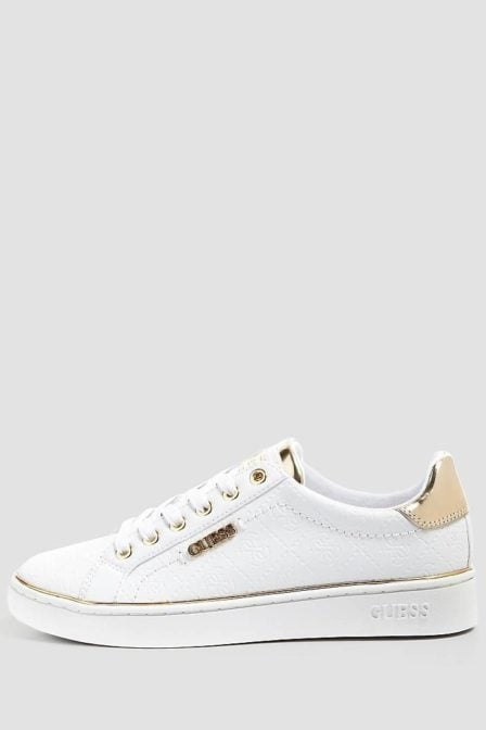 Guess beckie sneakers wit