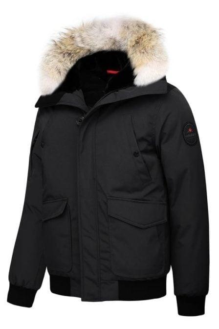 Helvetica jacket montreal black
