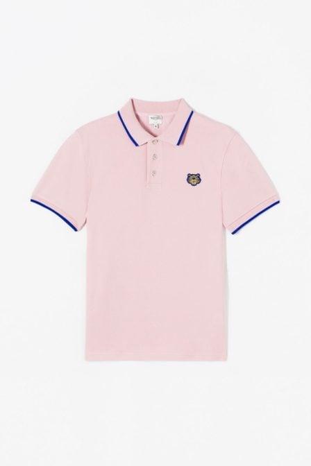 Kenzo tiger polo pink
