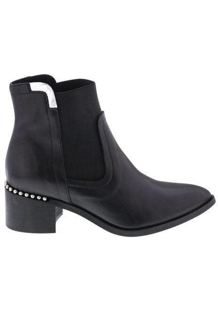 Lazamani ladies booties chelsea black 57293