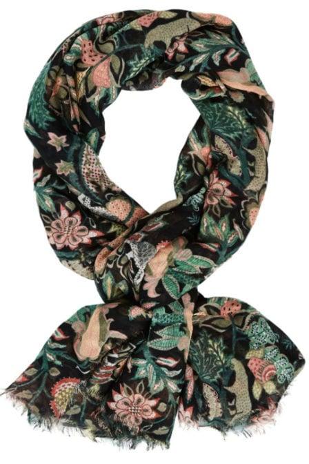 Maison scotch sjaal met print