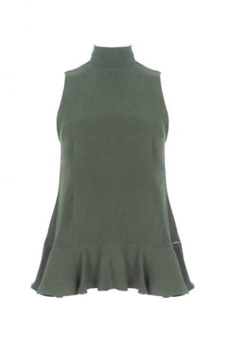 Maria tailor bree top deep green