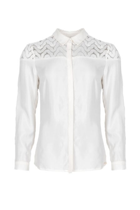 Maria tailor bahia blouse wit