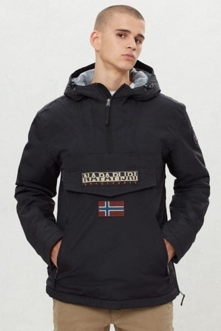 Napapijri rainforest pocket jas black