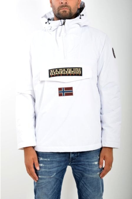 Napapijri rainforest winterjas bright white