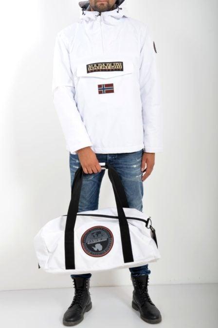 Napapijri hoyal duffle bright white tas
