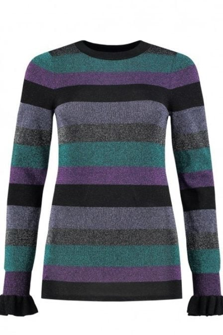 Nikkie paivi shirt multi stripes