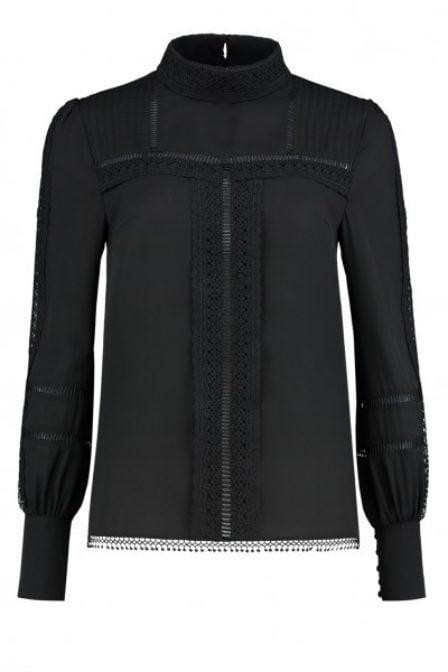 Nikkie sara blouse zwart