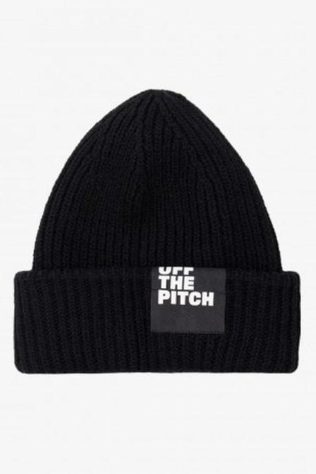 Off the pitch beanie zwart