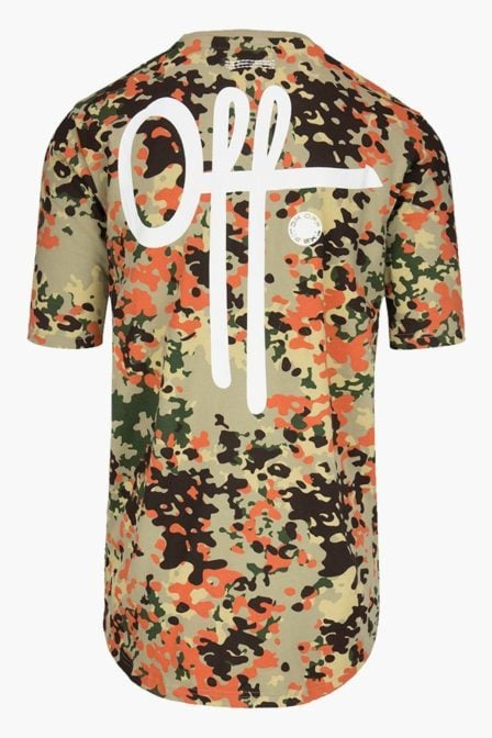 Off the pitch full camo tee