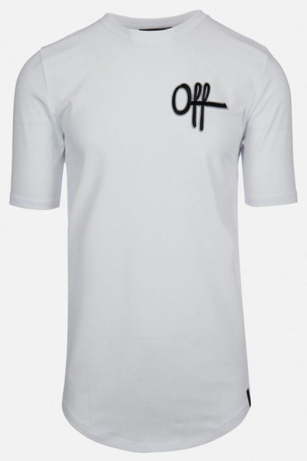 Off the pitch the patch t-shirt