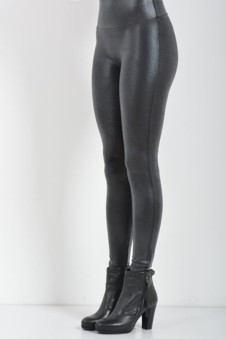 Oroblu and spanx legging lederlook pebble
