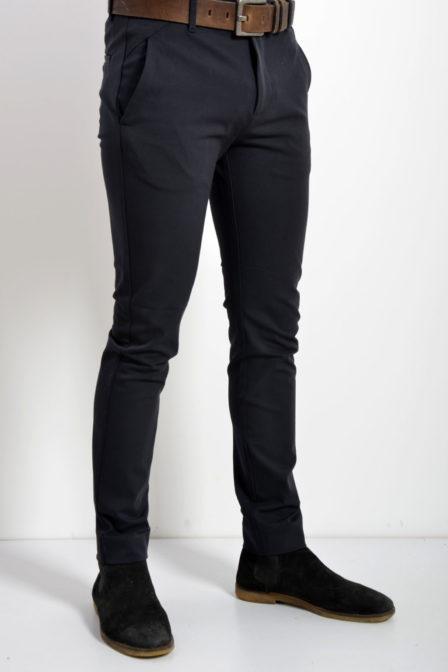 Plain josh 315 broek donkerblauw