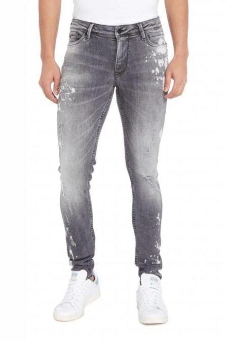 Pure white the jone jeans w0080 grey