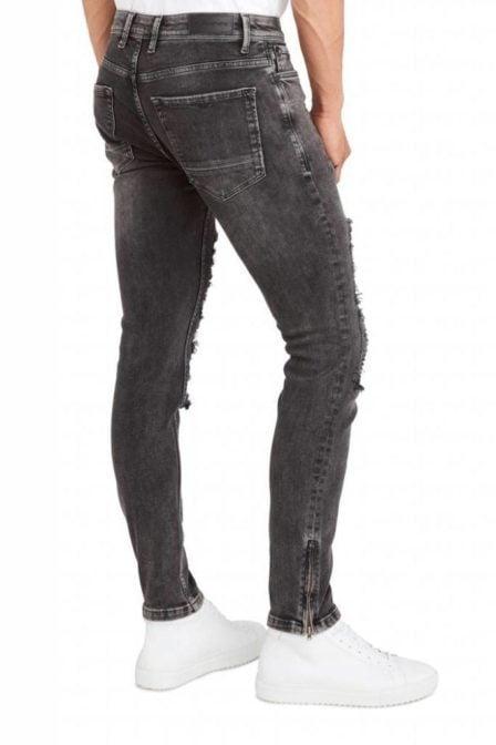 Pure white the jone 291 jeans black
