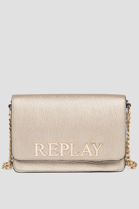 Replay crossbody tas goud