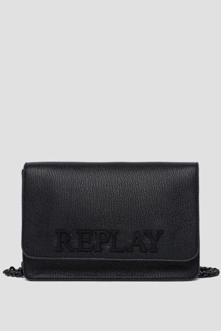Replay crossbody tas zwart