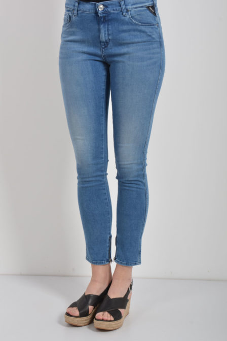 Replay jeans blauw