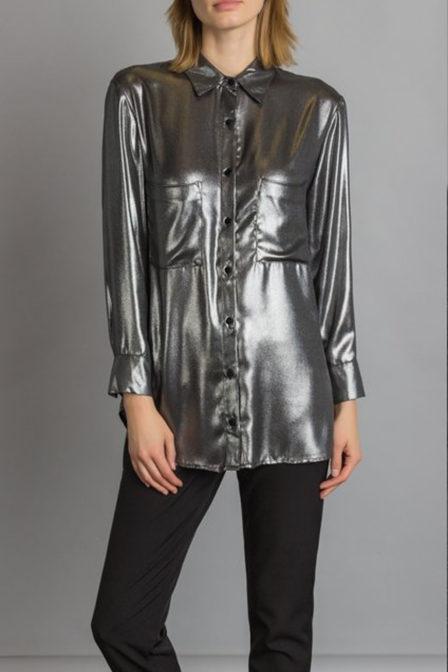 Rinasciment blouse zilver