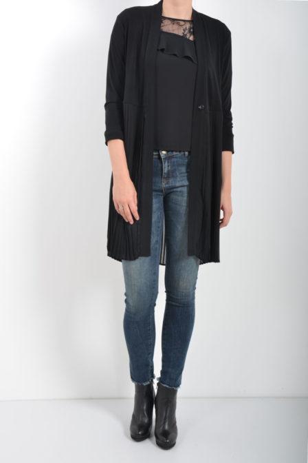 Rinascimento pullover blouse zwart