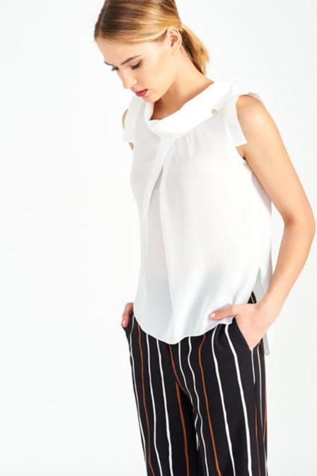 Rinascimento top t-shirt wit