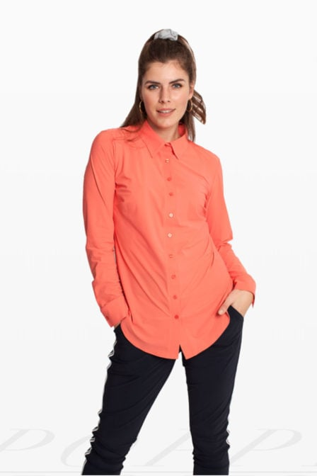 Studio anneloes poppy blouse koraal