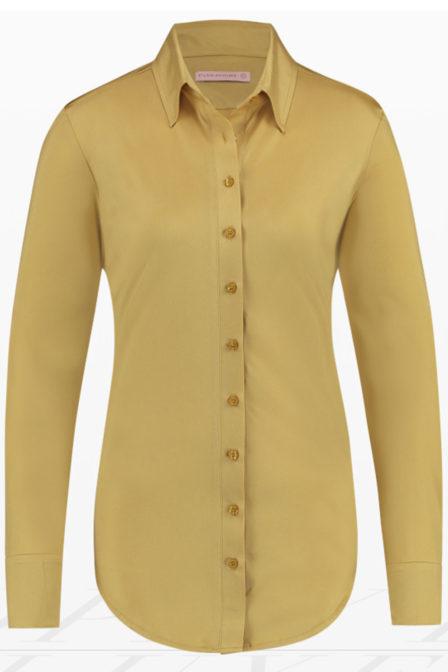 Studio anneloes poppy de luxe blouse goud