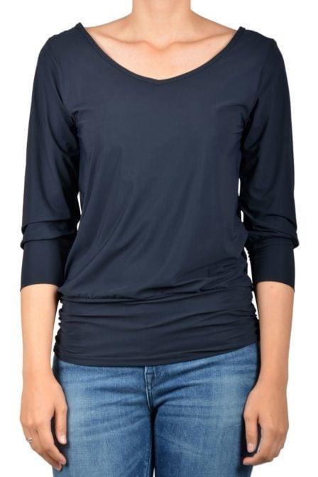 Studio anneloes tandem 2way shirt dark blue