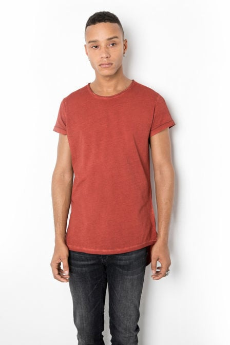 Tigha milo shirt rood