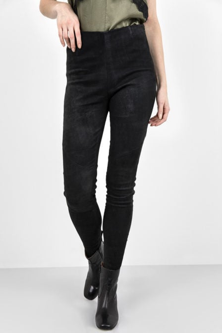 Tigha nori buffed legging zwart