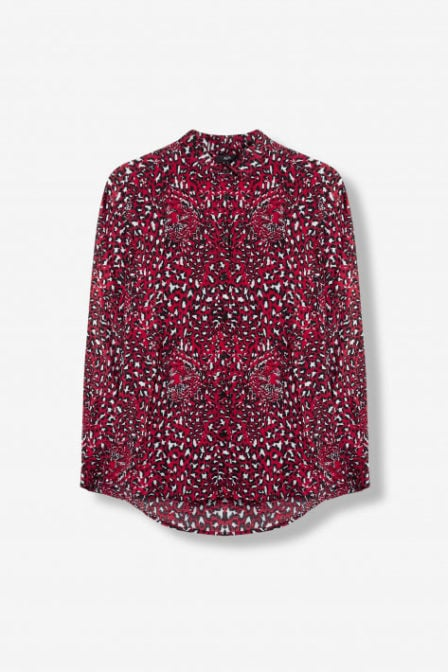 Alix the label animal blouse rood
