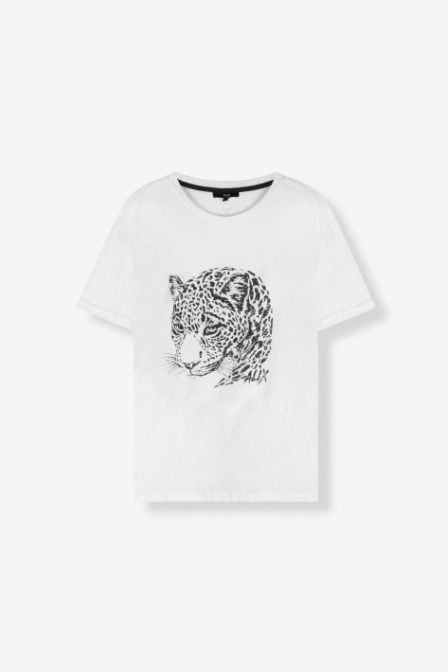 Alix the label boxy t-shirt wit