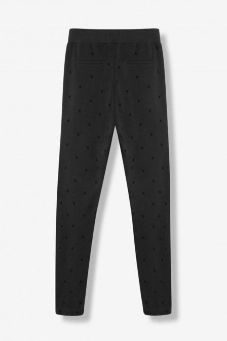 Alix the label ladies knitted bull sweatpants black