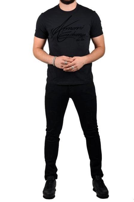Armani t-shirt jersey black